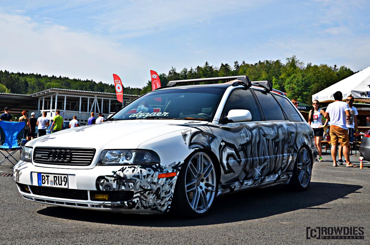 VAD 76 - VW & Audi Days 2015 - Audi A4 B5 Kombi