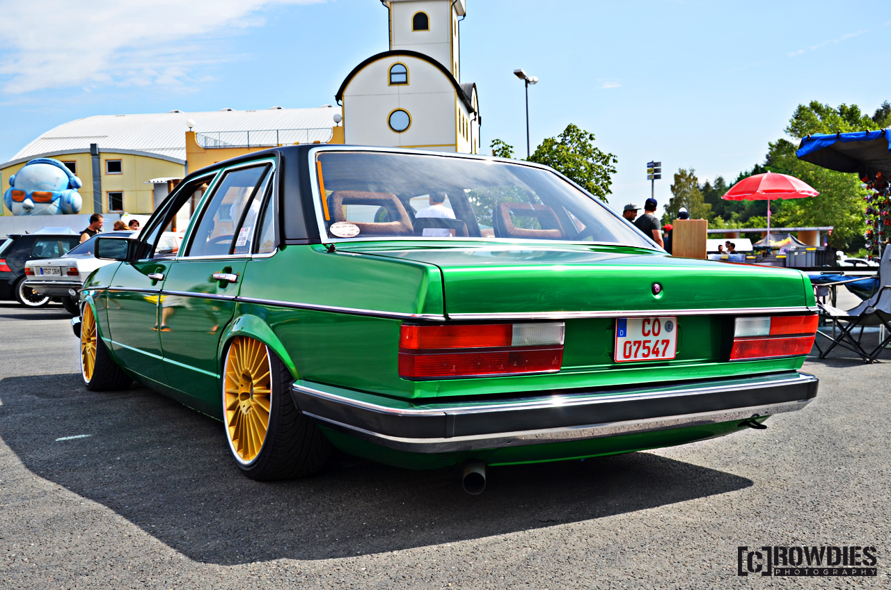 VAD 76 - VW & Audi Days 2015 - Audi 200