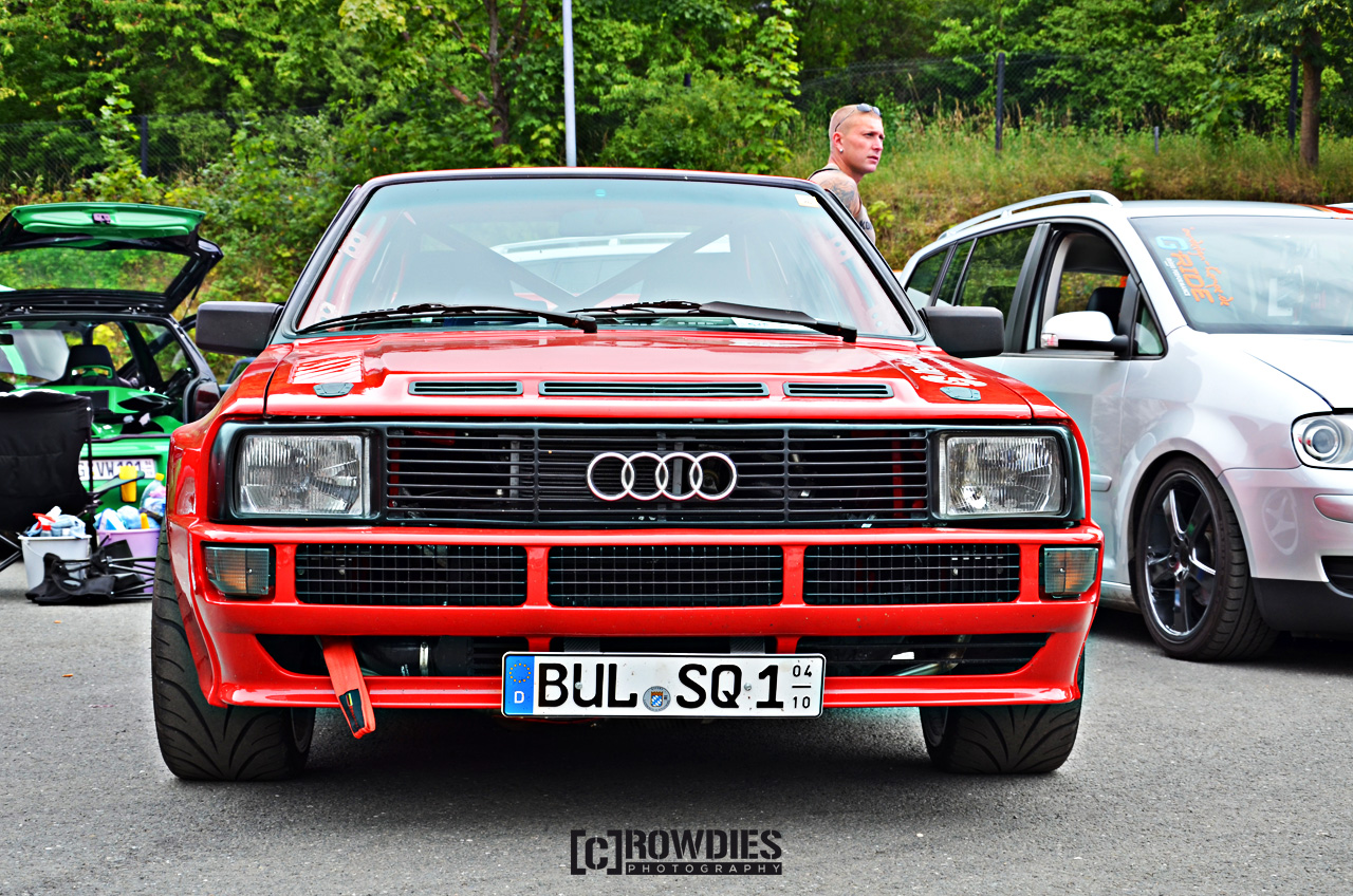 VAD 76 - VW & Audi Days 2015 - Audi Coupe Urquattro