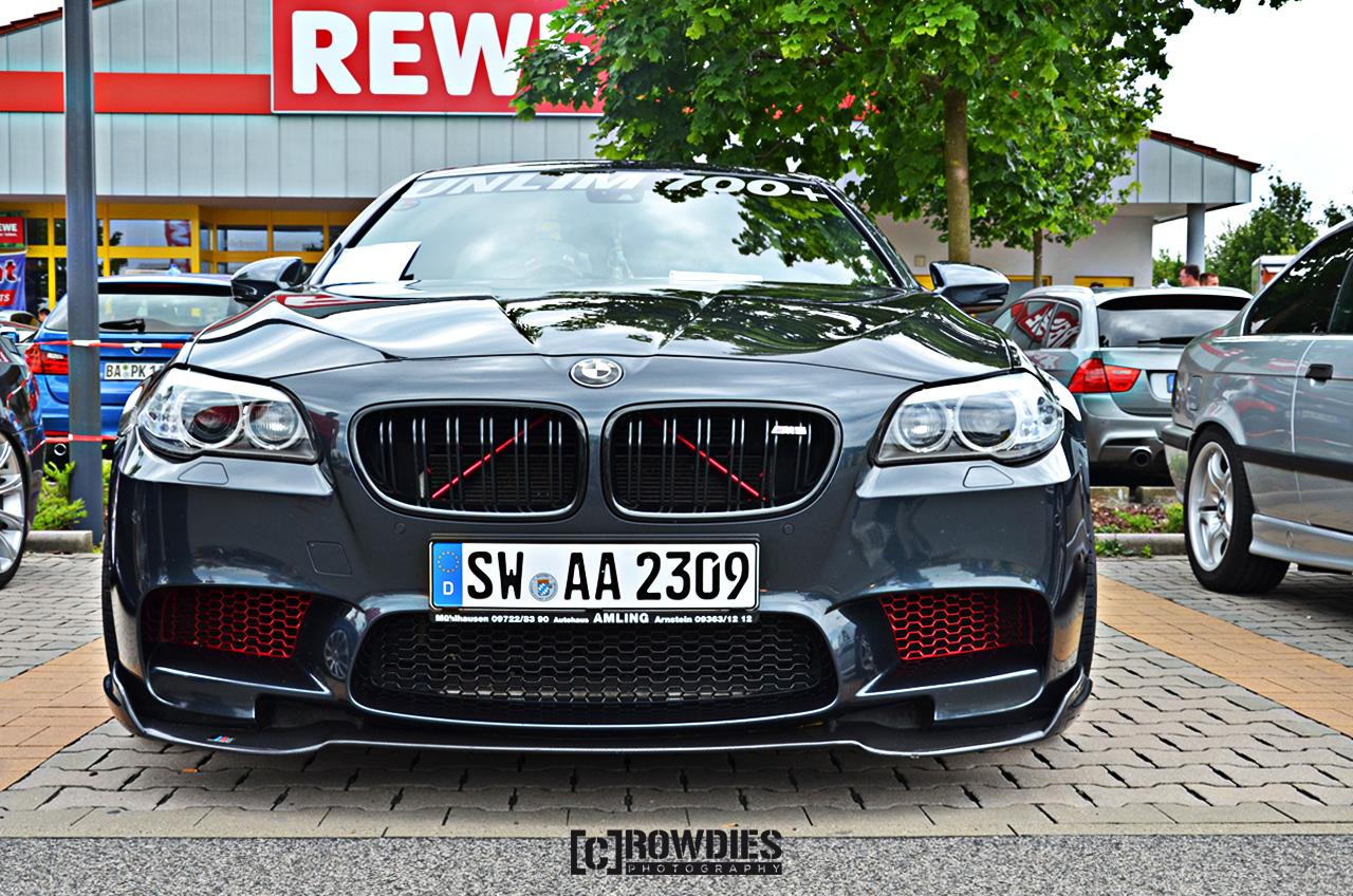 BMW M5  - Leistungsdiagramm von über 720 PS