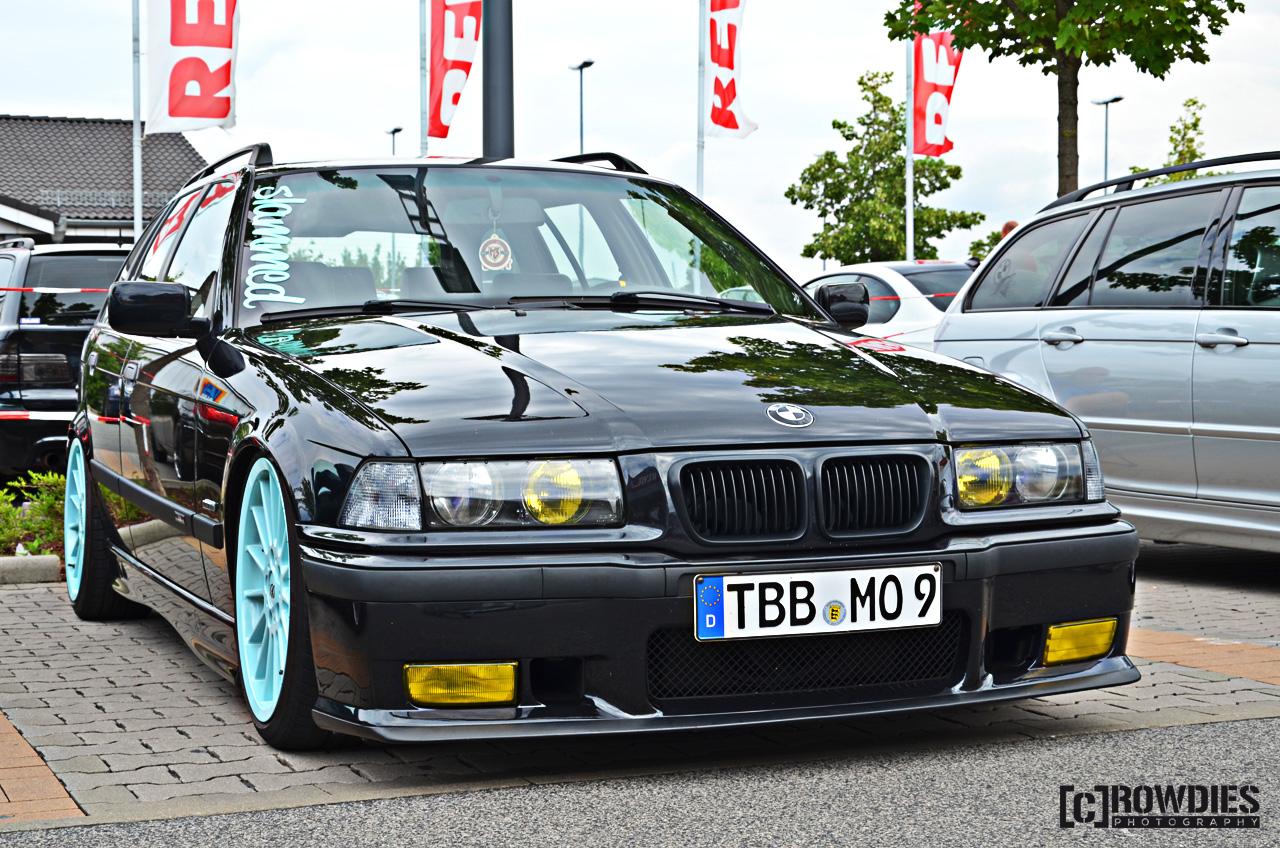 6. BMW & Mini - Treffen-Hofheim - BMW E36 Touring