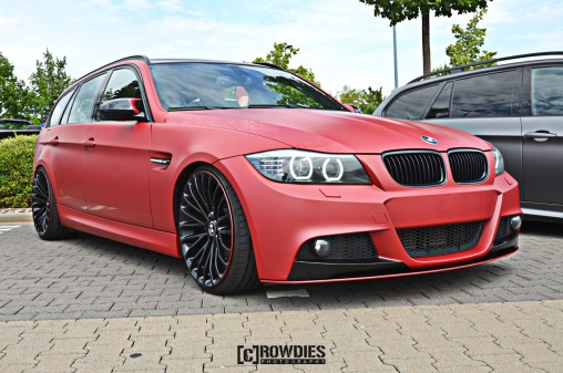 6. BMW & Mini - Treffen-Hofheim - BMW E91 Touring
