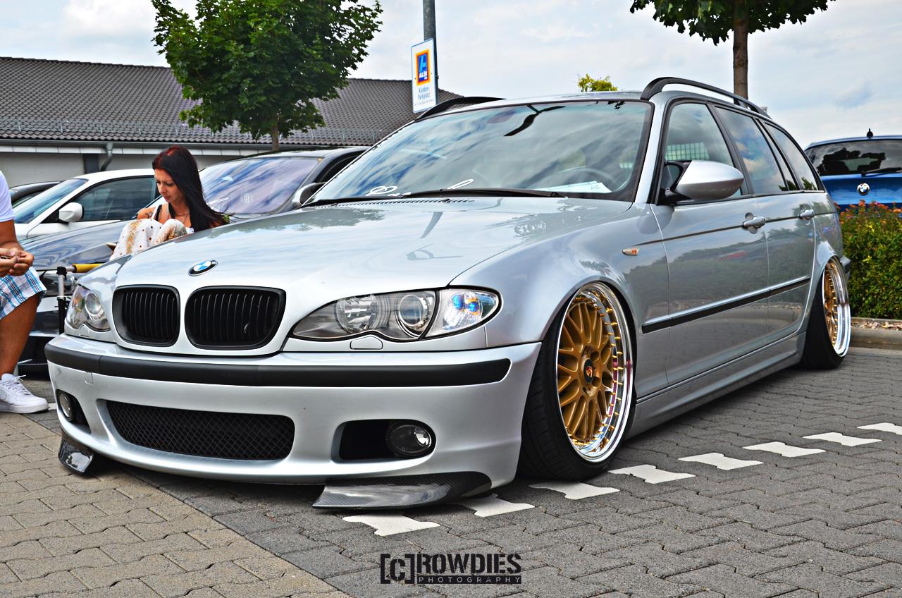 6. BMW & Mini - Treffen-Hofheim - BMW E46 Touring
