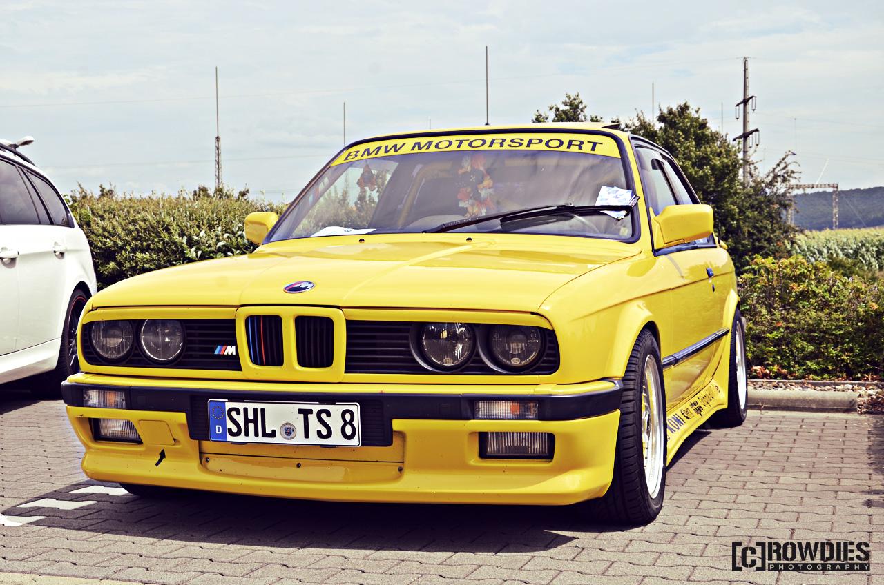 6. BMW & Mini - Treffen-Hofheim - BMW E30