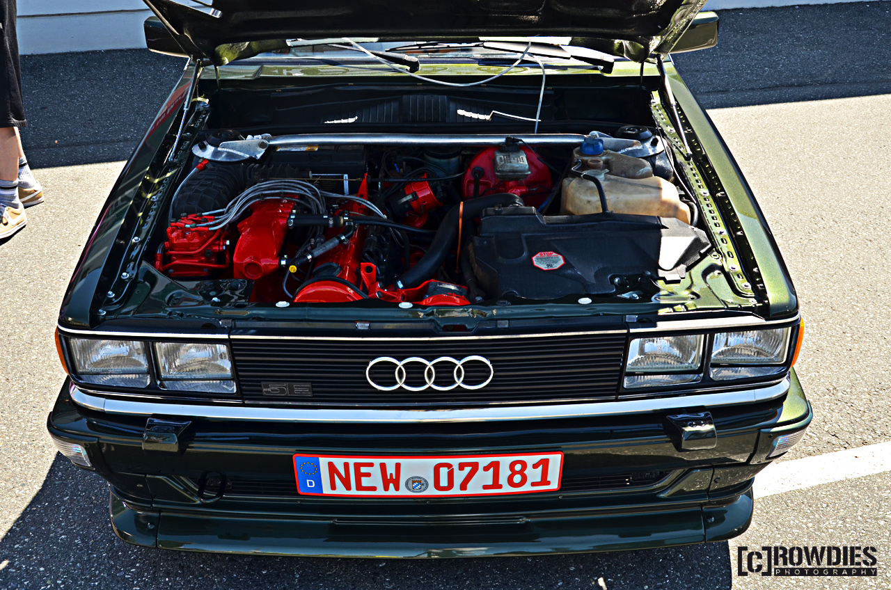 12. New-Styler VW & Audi Summer Meet -  Audi Coupe 5SE