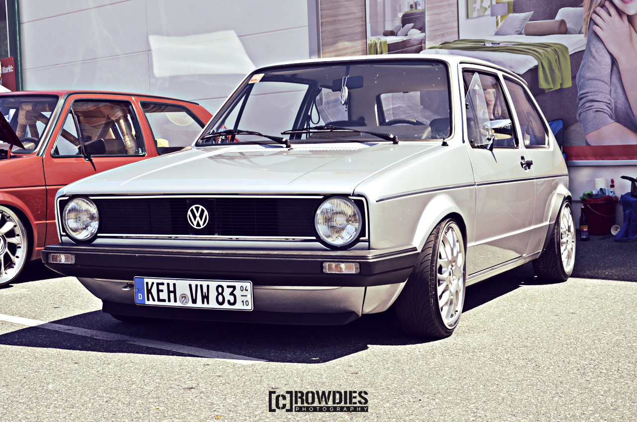 12. New-Styler VW & Audi Summer Meet - VW Golf 1
