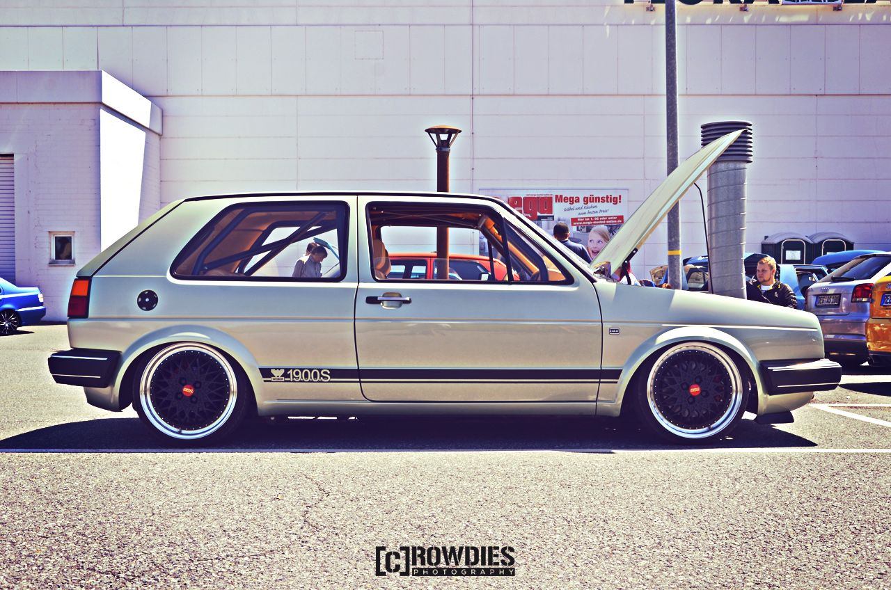 12. New-Styler VW & Audi Summer Meet - VW Golf 2