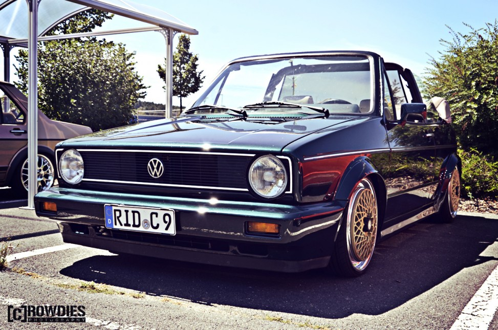12. New-Styler VW & Audi Summer Meet - VW Golf 1 Cabrio