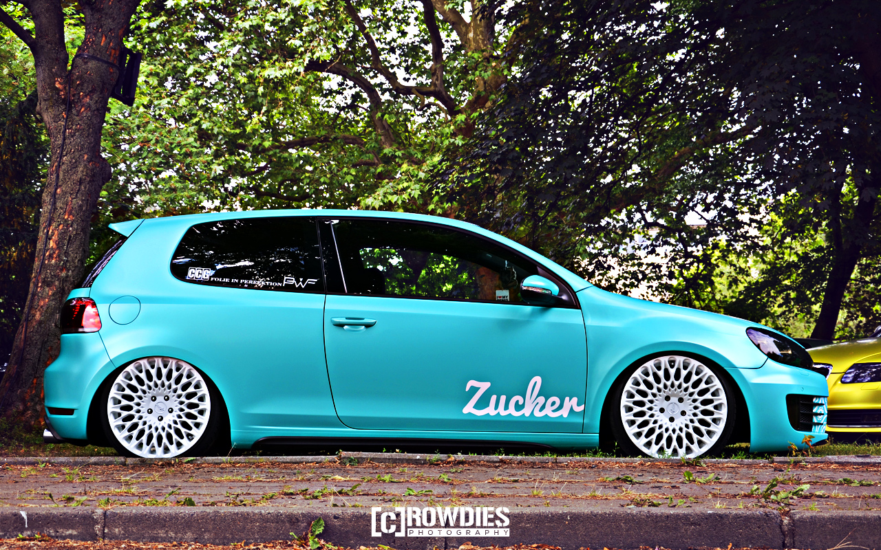 Wallpaper - VW Golf 6 GTI - Zucker - How Deep - 1280x800px