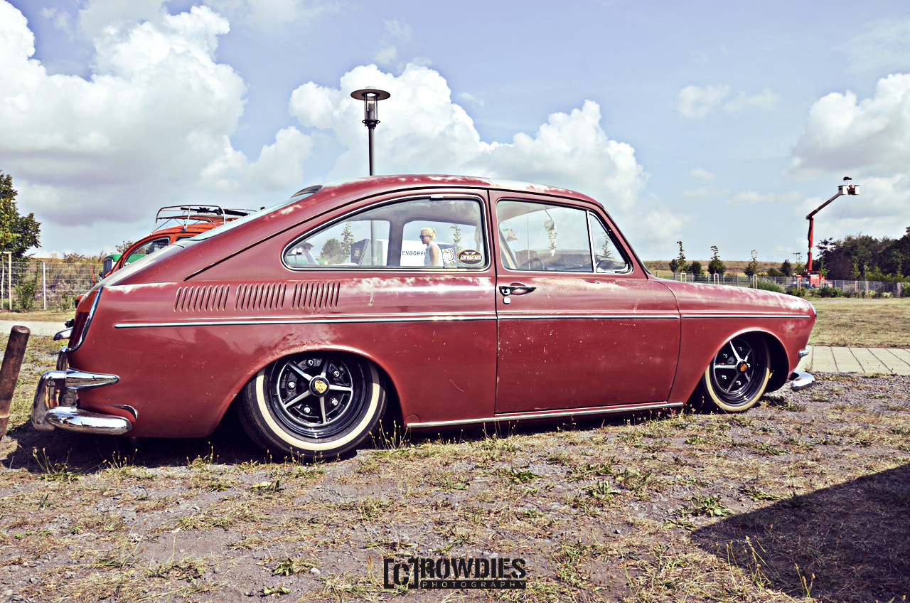 Awesome Classics 2015 - VW Typ 3 - 1600 TL rot