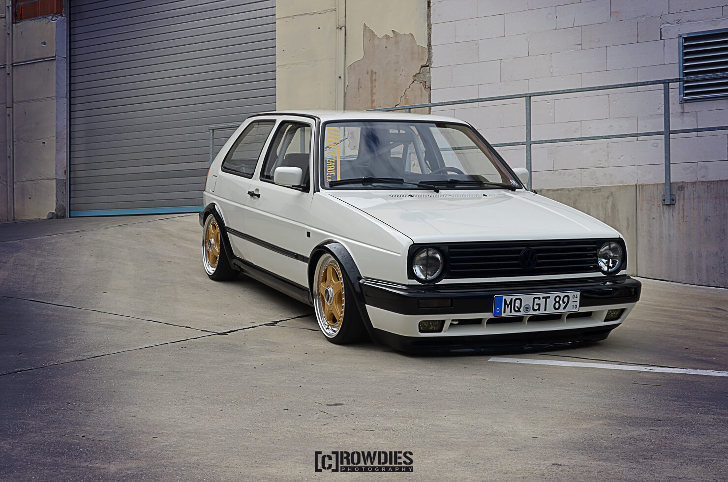 Team Eddy's Season End 2015 – VW Golf 2 Weiß