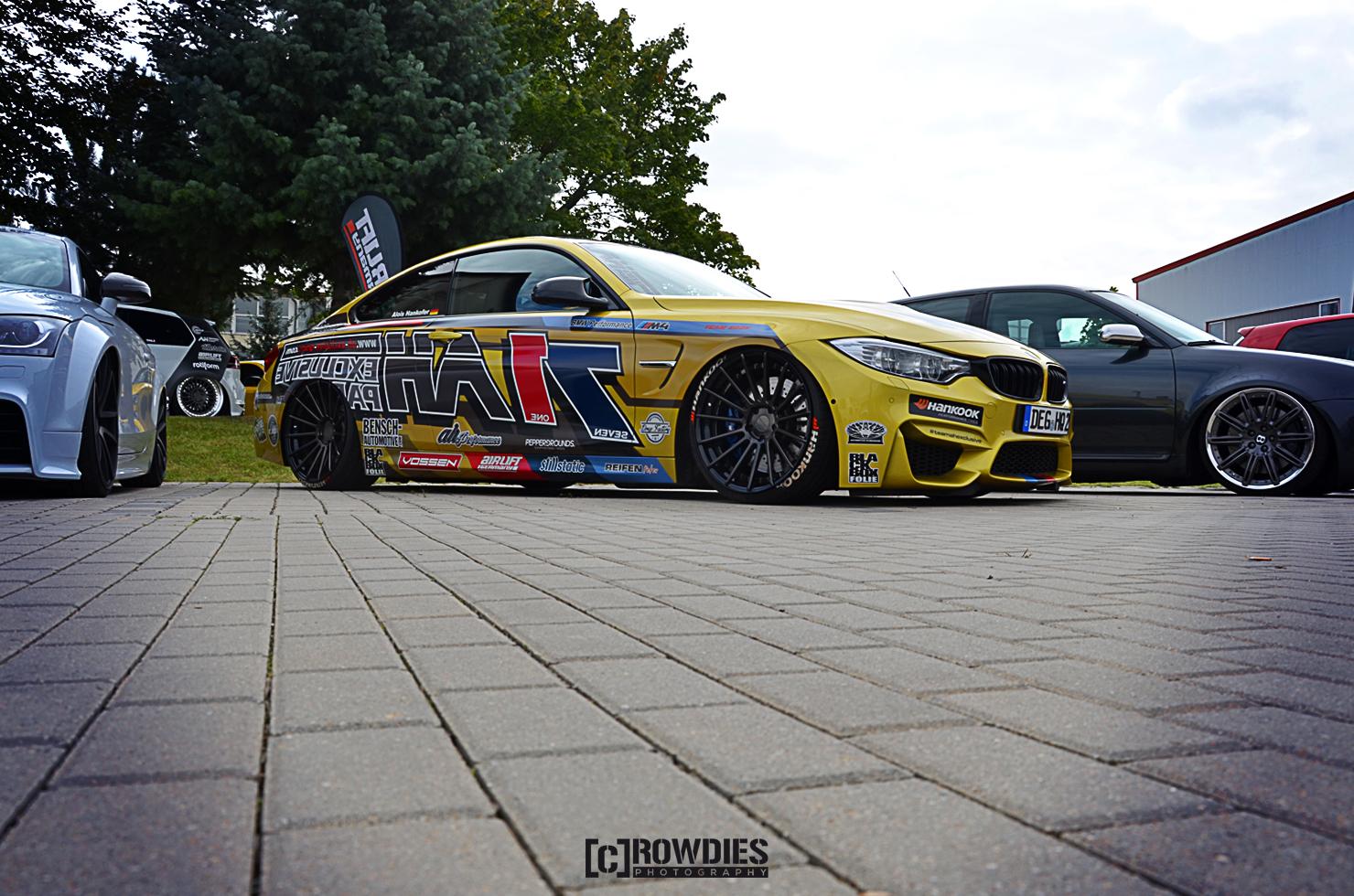 Team Eddy's Season End 2015 – BMW M4 AH Exclusive Gelb