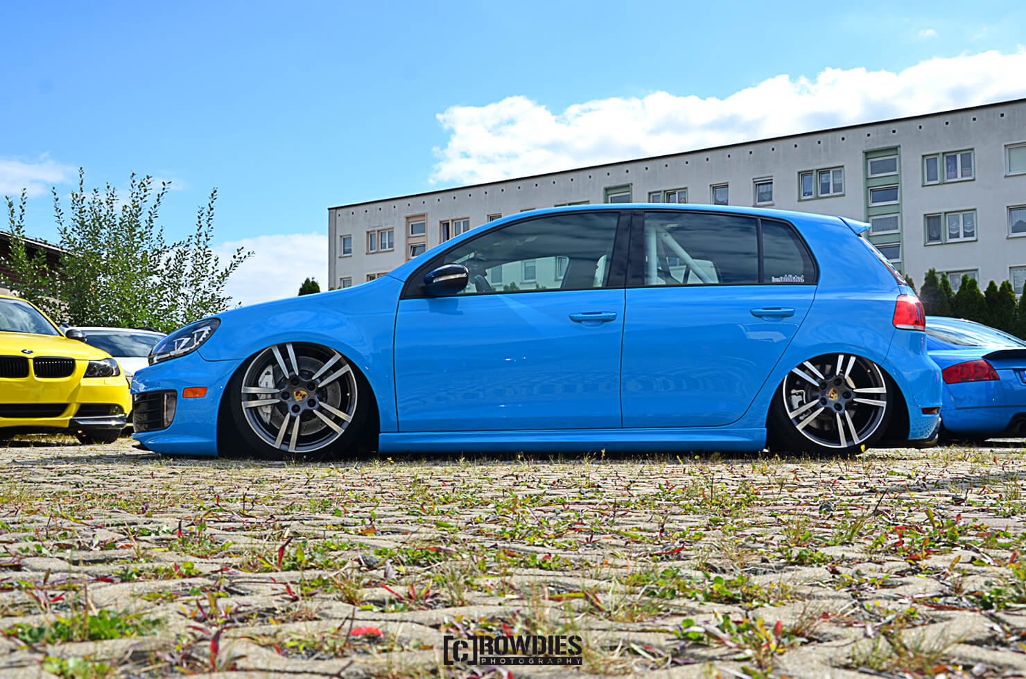 Team Eddy's Season End 2015 – VW Golf 6 Blau