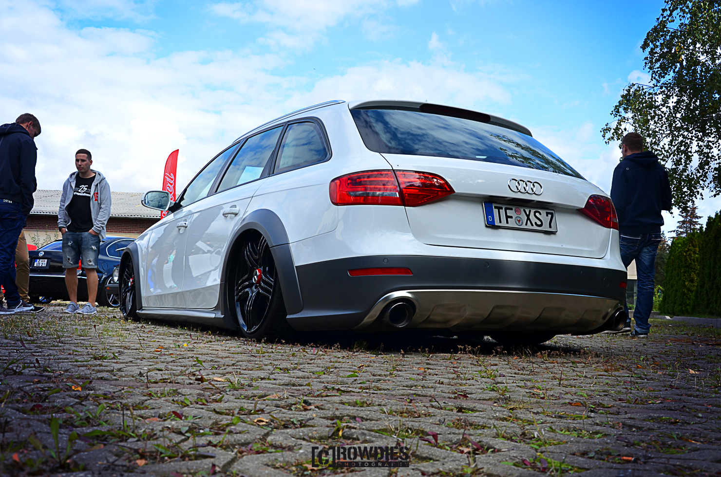 Team Eddy's Season End 2015 - Audi A6 Allroad Weiß