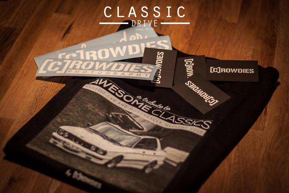 Classic Drive - personalisierte T-Shirt Awesome Classics 2015
