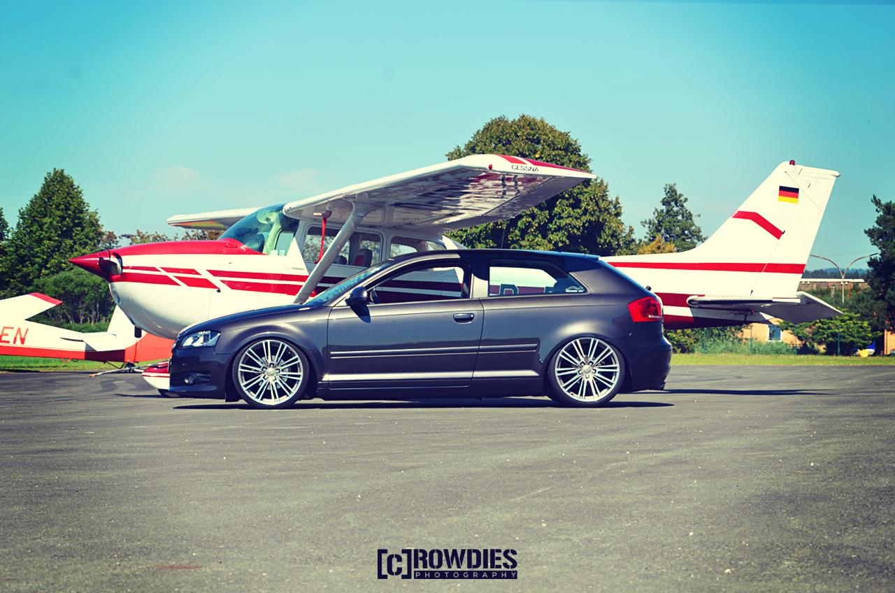 Performance on Wheels - Flugzeug-Shooting - Audi A3