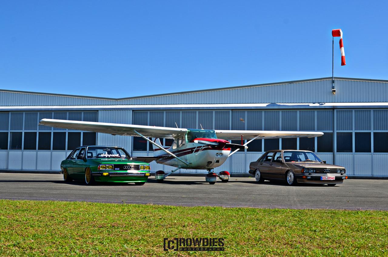 Performance on Wheels - Flugzeug-Shooting - Audi Brothers
