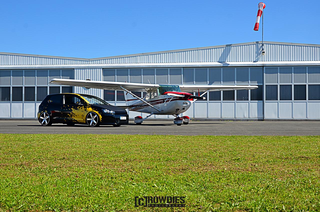 Performance on Wheels - Flugzeug-Shooting - Golf 6