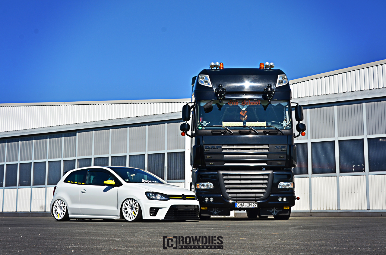 Performance on Wheels - Polo WRC vs. LKW