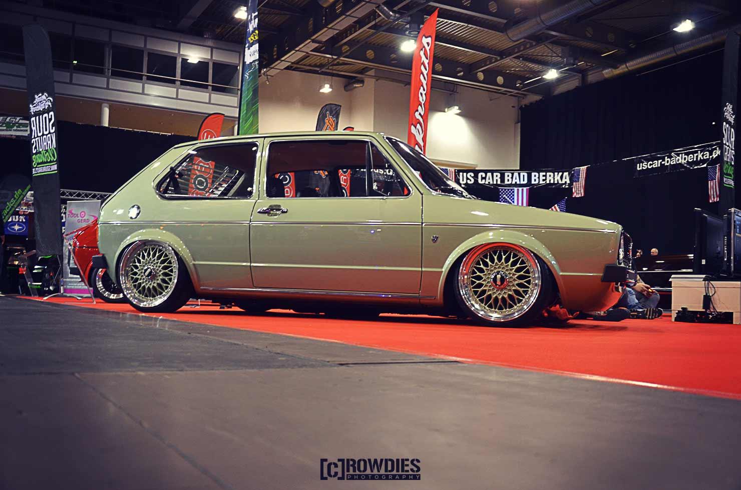 Automobil Messe Erfurt - Sourkrauts Golf 1
