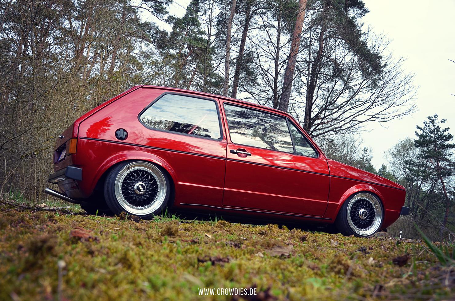 Pascal's VW Golf 1