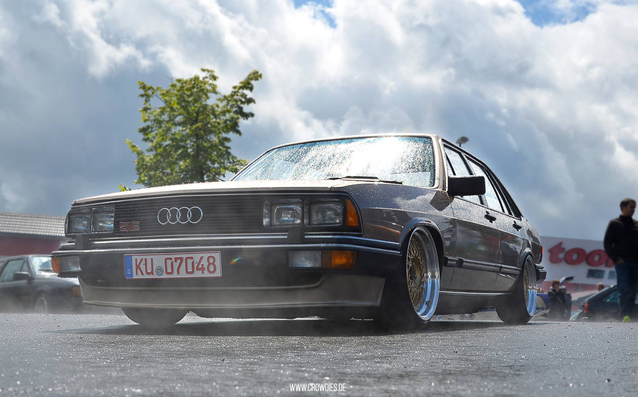 Low Cars & High Hills 2016 – Audi 200 TYP43