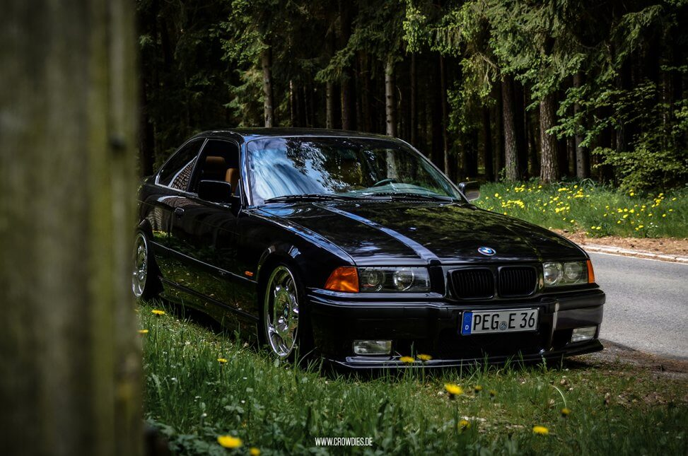 Max BMW E36 320i Coupe – KFZ Fotoshooting