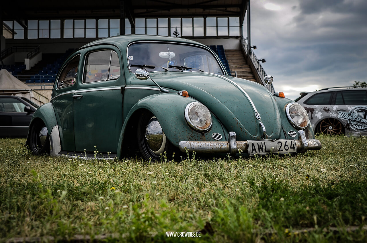 Inneres Blumenpflücken 2017 – VW Käfer