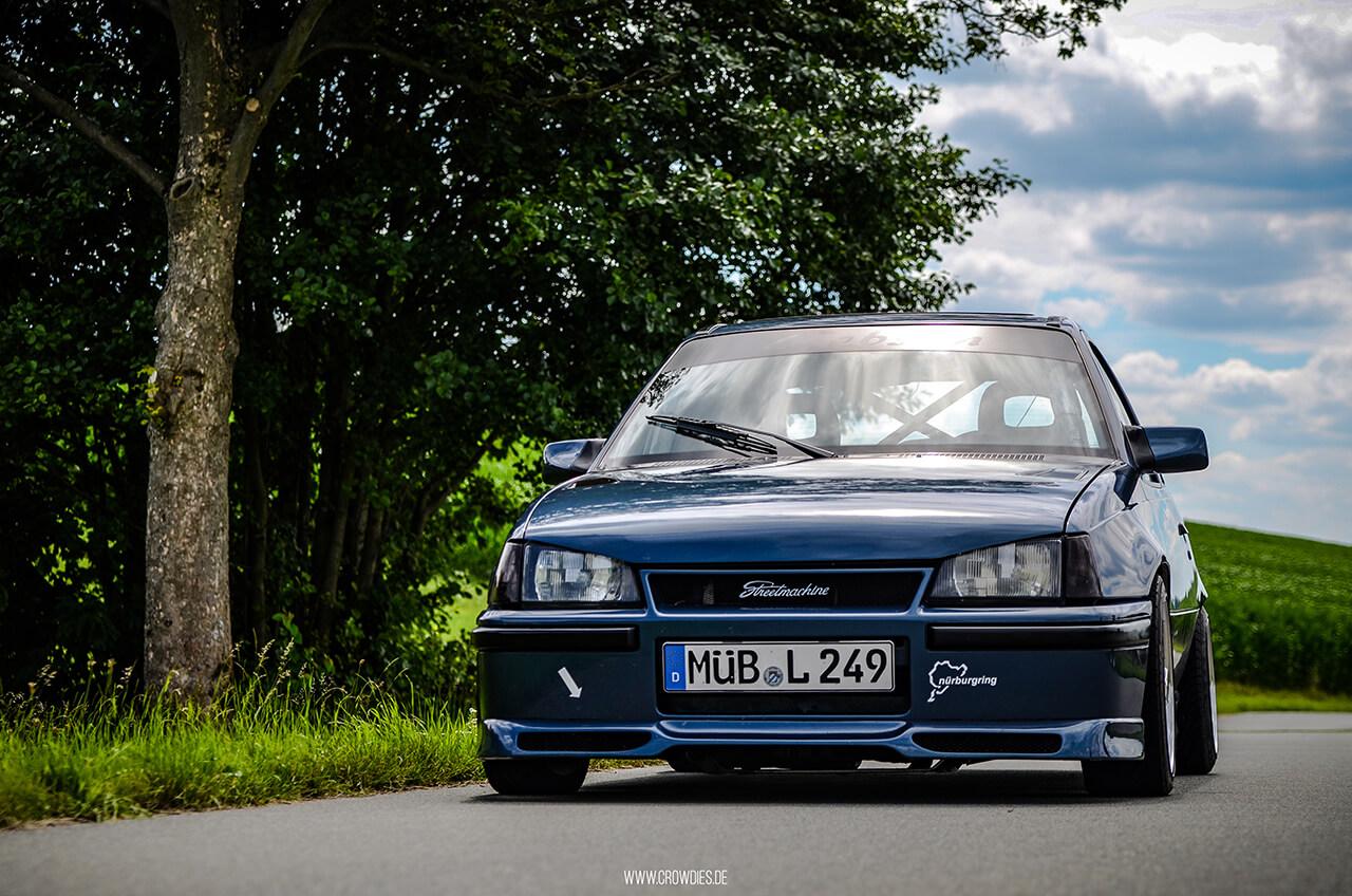 Tobias Opel Kadett E GSI –KFZ Fotoshooting
