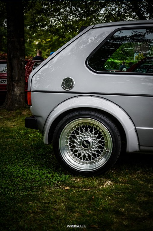 Awesome Classics 2017 – VW Golf 1 Widebody