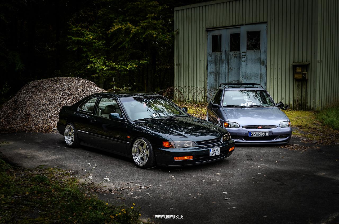 NEF Cars BBQ – Honda Accord und Ford Escort