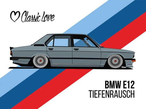 Illustration – BMW E12