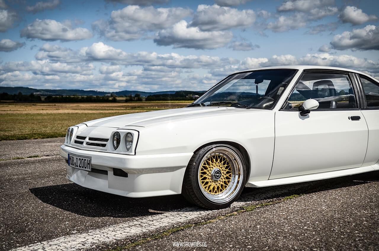 Michael's Opel Manta B –KFZ Fotoshooting