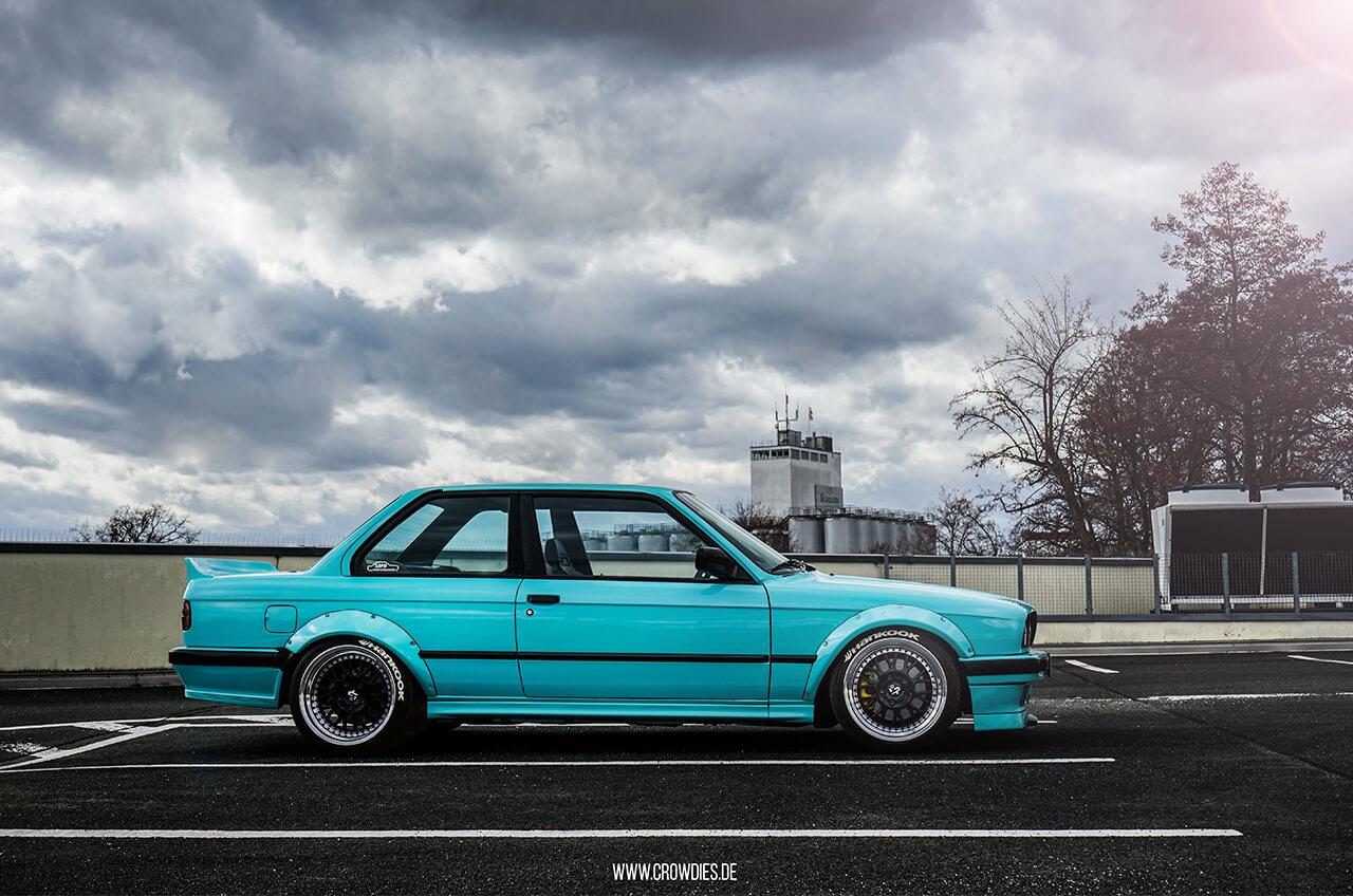 Manus BMW E30 –KFZ Fotoshooting
