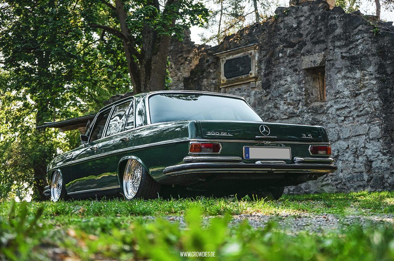 Christians Mercedes Benz 300SE –KFZ Fotoshooting
