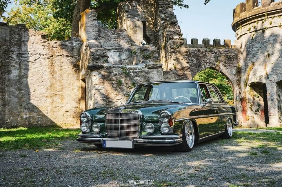 Christians Mercedes Benz W108 280SE –KFZ Fotoshooting
