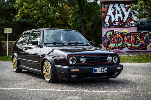 Renes VW Golf 2 GTI Edition One – KFZ Fotoshooting