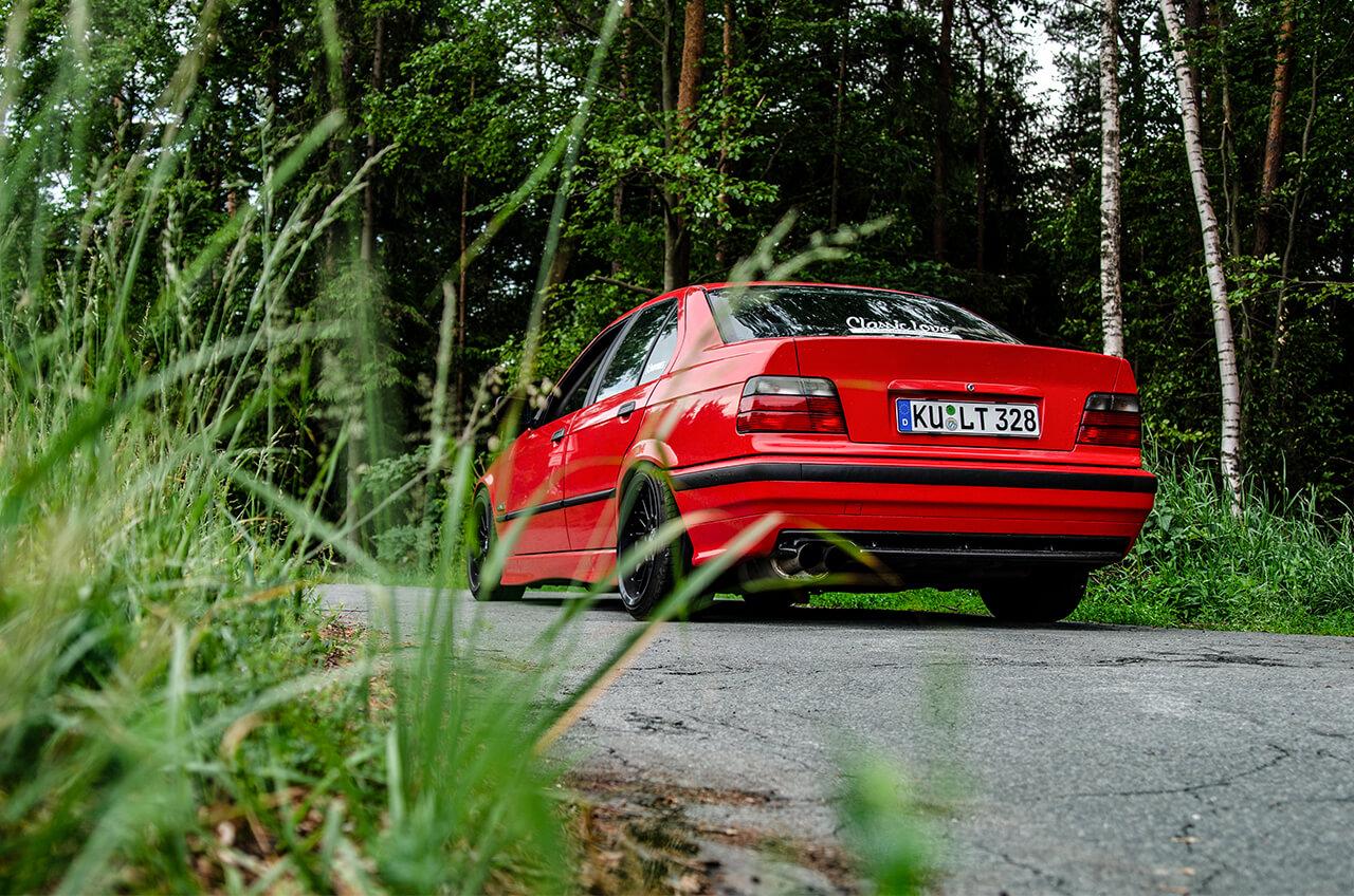 Mein BMW E36 328i –KFZ Fotoshooting