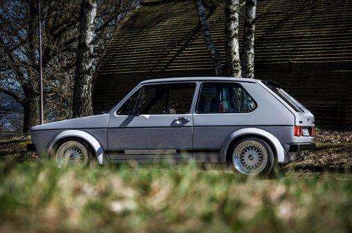 Woflgangs VW Golf 1 GTI Breitbau –KFZ Fotoshooting